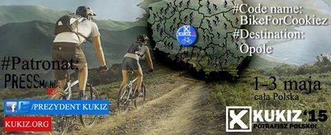 Rowerem dla Pawła Kukiza podPatronatem portalu Pressamania