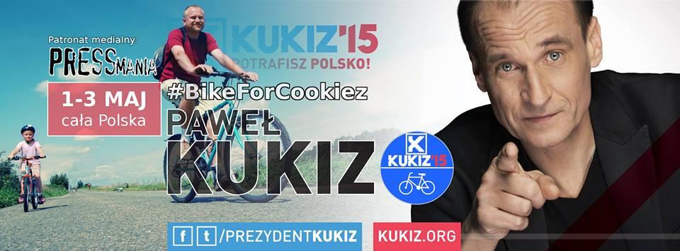 Rowerem dla Prezydenta Pawła Kukiza. Polsko potrafisz - podpatronatem medialny portalu Pressmania