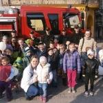 Strażacy pokazali sprzęt dzieciom zBytomia