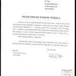 Wezwanie dowykupu weksla Grzegorz Kaziewicz