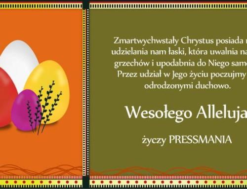 Wesoły nam dziś dzień nastał… Jezus Chrystus Zmartychwstał. Alleluja, Alleluja!