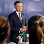 Andrzej Duda mówi ozmianie systemu podatkowego wPolsce - fot.Jan Lorek