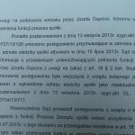 Gąsiorwoi wygasł mandat pełnienia funkcji prezesa spólki