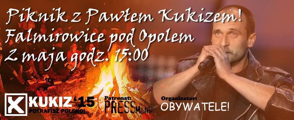 Pikinik zPawłem Kukizem