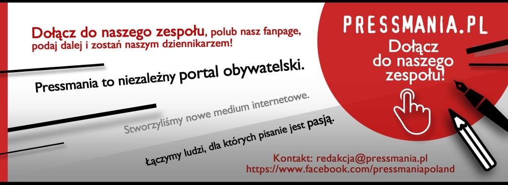 Reklama portalu Pressmania