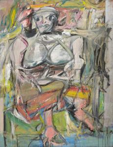 Willem de Kooning 'Woman 2'