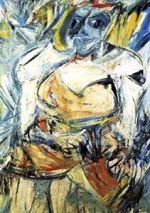 Willem de Kooning 'Woman 2a'