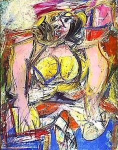 Willem de Kooning 'Woman 4'