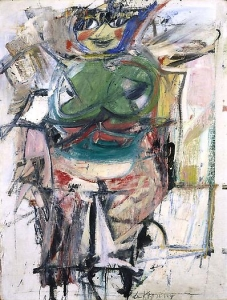 Willem de Kooning 'Woman (green)'