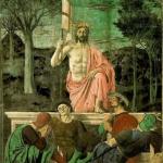 Zakłamani żołnierze przy grobie Chrystusa Pana