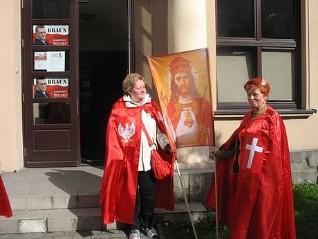 Zwolenniczki intronizacji Jezusa Chrystusa naKróla Polski