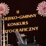 II Miejsko-Gminny Konkurs Ortograficzny wPilawie