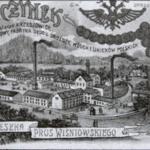 Browar Tenczynek historyczna grafika