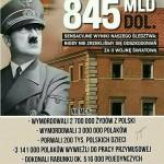 Niemcy winni Polakom 845 miliardów zaII Wojnę Światową