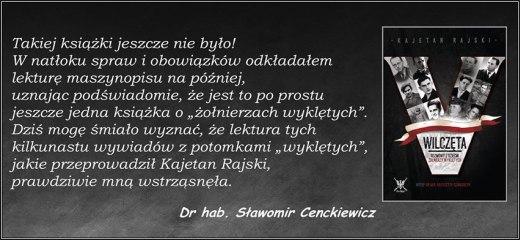 Wilczeta - recenzja drhab. Sławomir Cenckiewicz