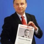 Andrzej Duda zListem gończym zaNowakiem