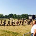 Harcerze iskauci wOssowie