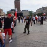 Krzysztof - Kaktus - Adamek naRynku Gównym wKrakowie - fot.Pressmania