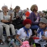 Młodzi istrasi mieszkancy Warszawy śpiewali razem nieZakazane Piosenki - fot.Anna Sztandur