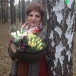 Małgorzata Kupiszewska ztulipanami