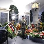 Przed Grobem NIeznanego Żołnierza - fot.Anna Sztandur