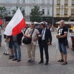 WoJOWnicy Kukiza zeŚląska naRynku Głównym wKrakowie - fot.Pressmania