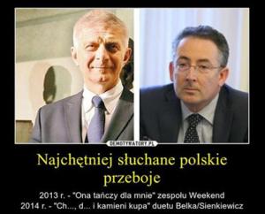 źródło: rozrywka.dziennik.pl Najchętniej słuchane polskie przeboje.
