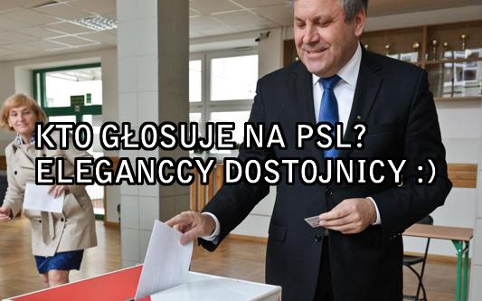 Kto głosuje na PSL?