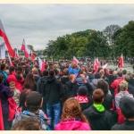 Śląska manifestacja przeciw imigrantom - fot.Patryk Niedźwiedzki