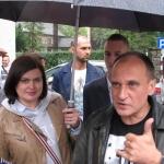 Ada Karcz-Zielińska iPaweł Kukiz - fot.Kazimierz Zieliński