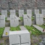 Barbarzyńskie zniszczenia cmentarza naRosie wWilnie 13