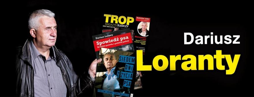 Dariusz Loranty zksiążkami iswoją gazetą
