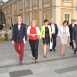 Delegacja zmarszałek Sejmu iSową - fot.Kazimierz Zieliński