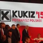 Kornel Morawiecki zmistrzem olimpijskim nakonwencji Ruchu Kukiz'15 - fot.Szymon Zdziebko