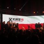 Ludzie Kukiza nakonwencji Ruchu Kukiz'15 nascenie podczas konwencji wWarszawie - fot.Szymon Zdziebko