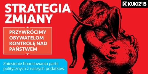 Strategia zmiany oddać Polskę narodowi - Kukiz'15