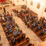 Uczestnicy XV Rajdu Katyńskiego namszy świętej