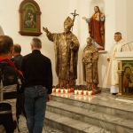 W kościele uczestnicy XV Rajdu Katyńskiego