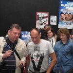 Paweł Kukiz udziela wywiadu Krzysztofowi Sitko