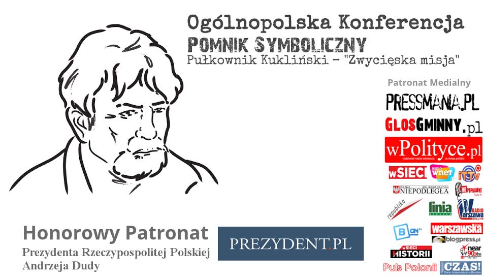 Pomnik symboliczny - Pułkownik Kukliński - zwycięska misja