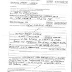 Protok zatrzymania Zygmunta Miernika - policja strona A