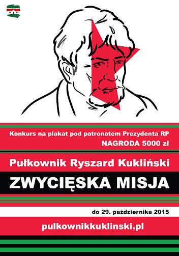 Pułkownik Kukliński zwycięska misja - konkurs naplakat