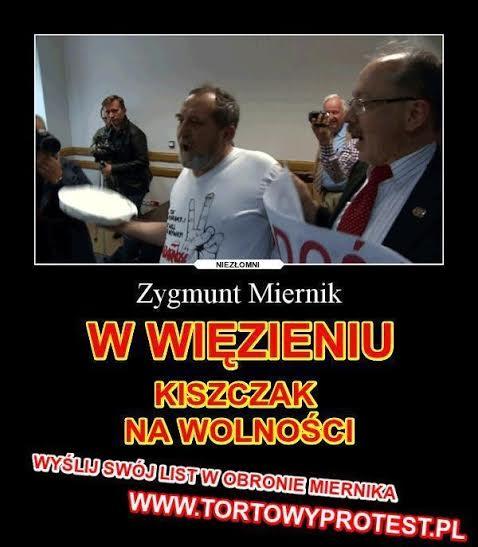 Zygmunt Miernik wwięzieniu aKiszczak nawolności