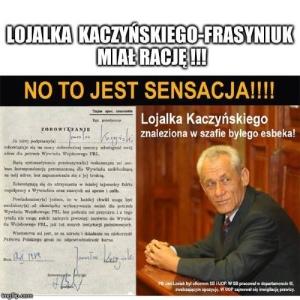 lojalka Kaczyńkiego 1989