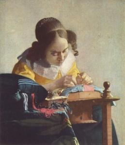 Jan Vermeer van Delft Koronczarka