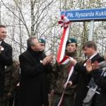 Odsłonięcie ulicy Płk. Ryszarda Kuklińskiego wOtwocku - fot.Seweryn Sołtys