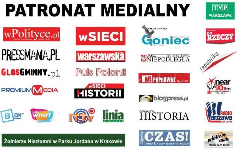 Patronaty medialne nadprojektem - Pułkownik Kukliński - zwycięska misja