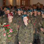 Szkołą Wojskowa namszy świętej wWadowicach