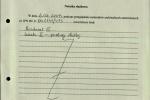 Notatka IPN dotycząca służby Piotr Wrońskiego