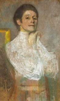 Olga Boznanska Autoportret